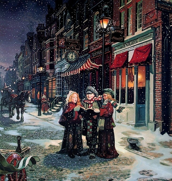 Twelve Days Of Christmas Carolers: The Life Project